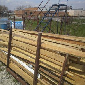 2 x 4 used lumber