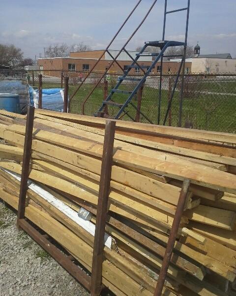 2 X 4 Lumber Used Gagnon Demolition