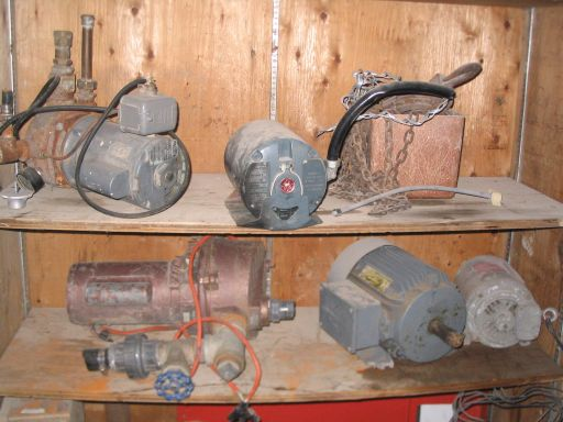 Various Motors Pumps Gagnon Demolition