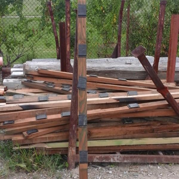 Pressure Treated 2 X 3 Lumber 6ft Gagnon Demolition