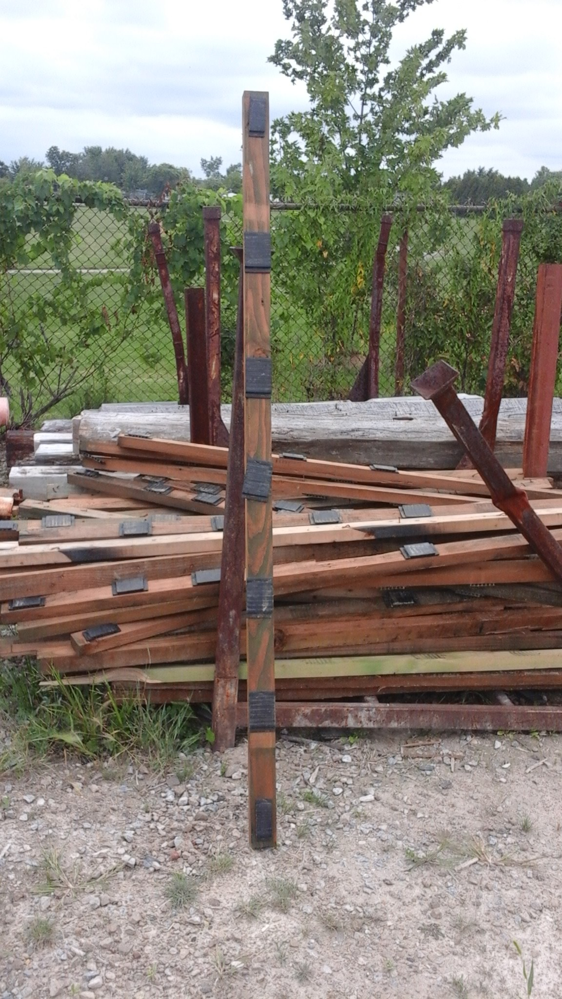 Pressure treated 2 x 3 lumber 6ft gagnon demolition for Demolition wood for sale
